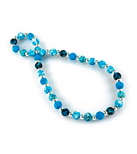 Viva Beads® Blue Brook 8mm Classic Clay Bead Necklace