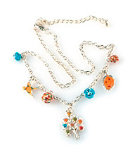 Viva Beads® Pumpkin Spice Charm Necklace