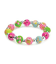 Viva Beads® Diva 10mm Chunky Stretch Bracelet - Cupcake