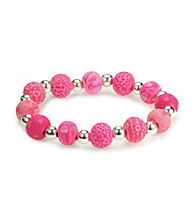 Viva Beads® Diva 10mm Chunky Stretch Bracelet - Candy Hearts