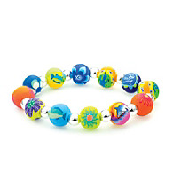 Viva Beads® Diva 10mm Chunky Stretch Bracelet - Tropical