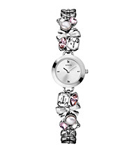 Guess Women's Crystalized Romance Bracelet Watch
