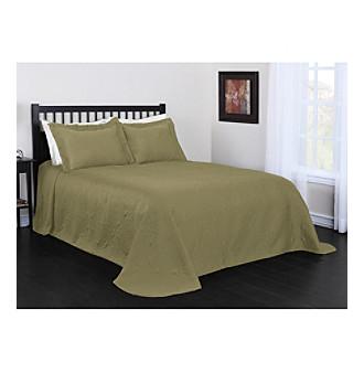 Verona 3 Pc Bedspread Set By Livingquarters Sage King