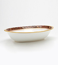 Noritake Xavier Gold Oval Vegetable Bowl