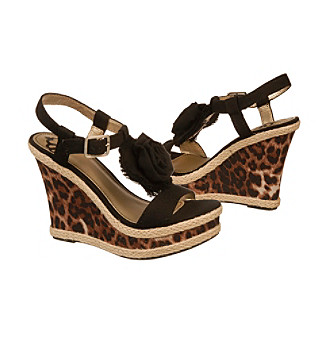 "Fergalicious® ""Qwiklee"" Wedge Sandals"