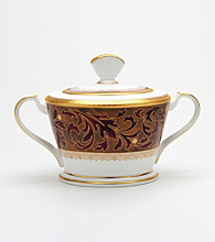 Noritake Xavier Gold Sugar Bowl with Lid