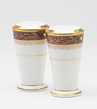 Noritake Xavier Gold Salt & Pepper Set