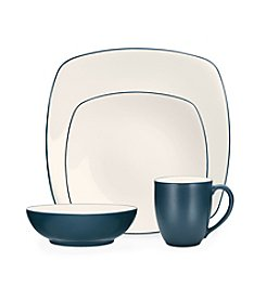 Noritake Colorwave Blue Square 4-pc. Place Setting