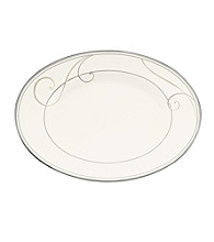 Noritake Platinum Wave Medium Oval Platter