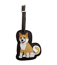 FouFou Dog Love Your Breed Luggage Tag - Akita