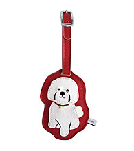 FouFou Dog Love Your Breed Luggage Tag - Bichon