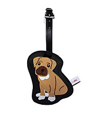 FouFou Dog Love Your Breed Luggage Tag - Boxer
