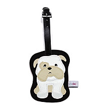 FouFou Dog Love Your Breed Luggage Tag - Bulldog