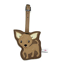 FouFou Dog Love Your Breed Luggage Tag - Chihuahua