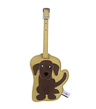 FouFou Dog Love Your Breed Luggage Tag - Chocolate Labrador