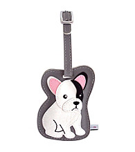 FouFou Dog Love Your Breed Luggage Tag - French Bulldog