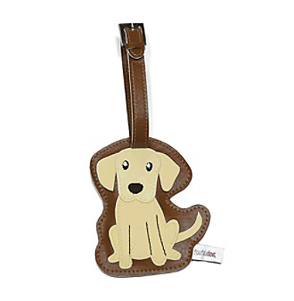 FouFou Dog Love Your Breed Luggage Tag - Golden Labrador