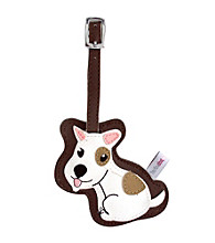 FouFou Dog Love Your Breed Luggage Tag - Jack Russell