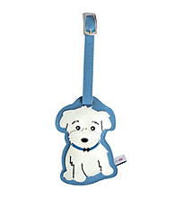 FouFou Dog Love Your Breed Luggage Tag - Maltese
