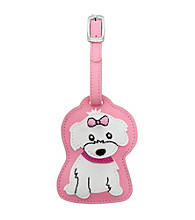 FouFou Dog Love Your Breed Luggage Tag - Maltese Girl
