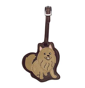 FouFou Dog Love Your Breed Luggage Tag - Pomeranian