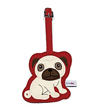 FouFou Dog Love Your Breed Luggage Tag - Pug