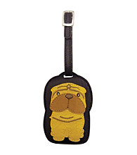 FouFou Dog Love Your Breed Luggage Tag - Sharpei