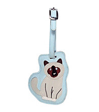 FouFou Dog Love Your Breed Luggage Tag - Siamese Cat