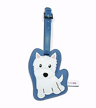 FouFou Dog Love Your Breed Luggage Tag - Westie Terrier