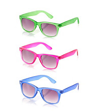 Icon Retro Neon Frame Sunglasses