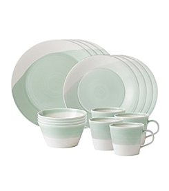 Royal Doulton® 1815 Green 16-pc. Dinnerware Set