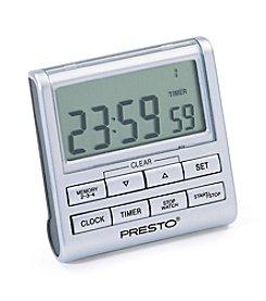 Presto®  Electronic Clock/Timer