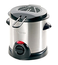 Presto® Stainless Steel 1-Liter Deep Fryer
