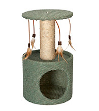 ABC Pet® Dura Scratch Cat Condo & Scratching Post