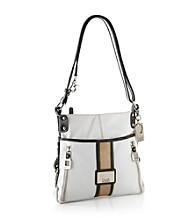 Tyler Rodan™ White/Black West End Crossbody