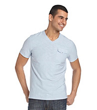 Kenneth Cole New York® Men's Pocket V-Neck Tee