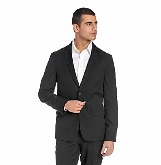 Kenneth Cole New York® Men's Black Two-Button Blazer