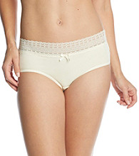 Relativity® Lace Waist Hipsters