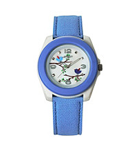 Sprout® Eco-Friendly Cotton Bird Watch - Blue