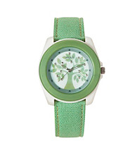 Sprout® Eco-Friendly Cotton Tree Watch - Green