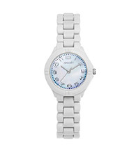Sprout® Eco-Friendly Link Watch - White