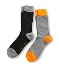 John Bartlett Statements Men's Dark Gray 2-Pack Socks