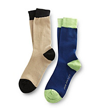 John Bartlett Statements Men's Deep Sapphire 2-Pack Socks