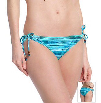Reef® Blue Ocean Swell Tie Side Swim Bottoms