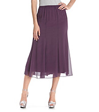Alex Evenings® Cassis Chiffon Skirt