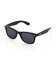 Kenneth Cole REACTION® Men's Black Plastic Wayfarer Sunglasses