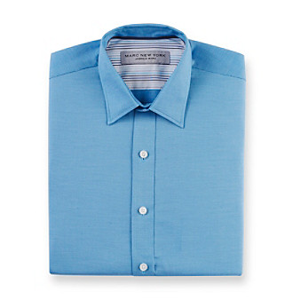 Marc New York Andrew Marc® Men's Teal Dress Shirt