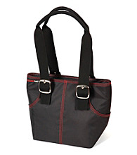 Rachael Ray® Kangaroo Tote Insulated Black Lunch Bag