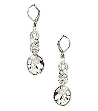 Givenchy® Small Faux Crystal Drop Earrings