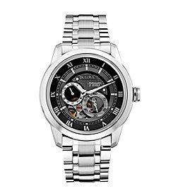 Bulova® Men's Stainless Steel Self-Winding Mechanical Watch